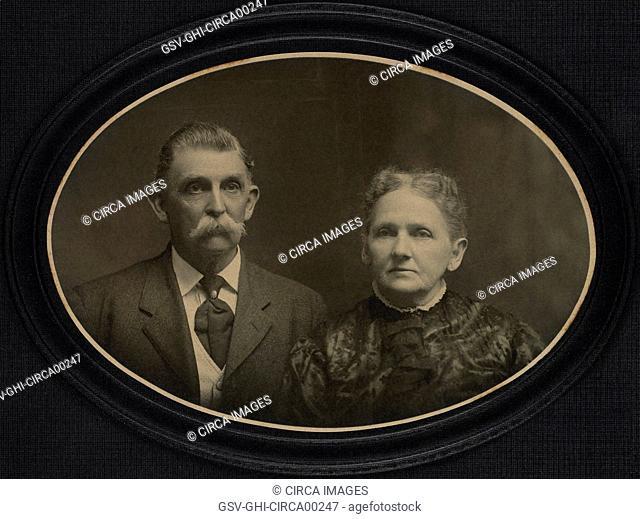 Couple Portrait, Circa 1890's