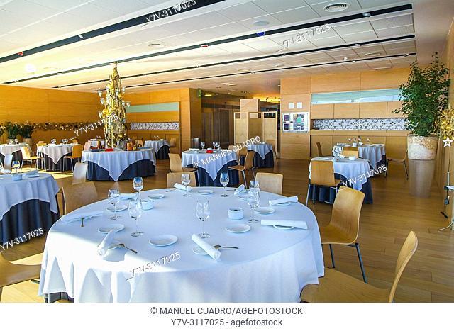 Dining room. Restaurante Iñigo Lavado, Irun, Guipuzcoa, Basque Country, Spain