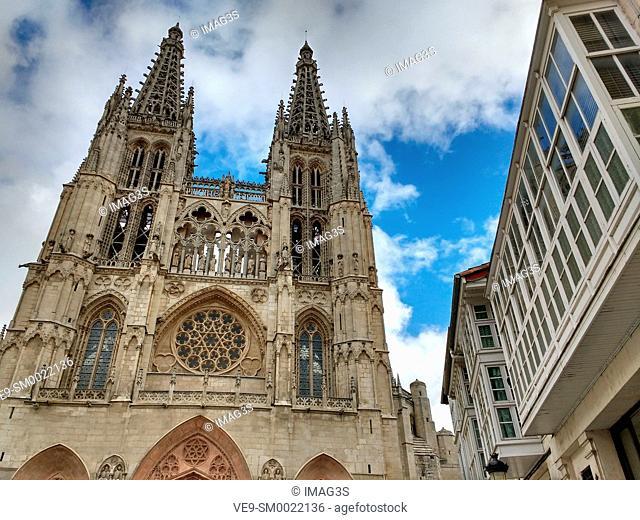 Burgos cathedral, Burgos, Castile and Leon, Spain