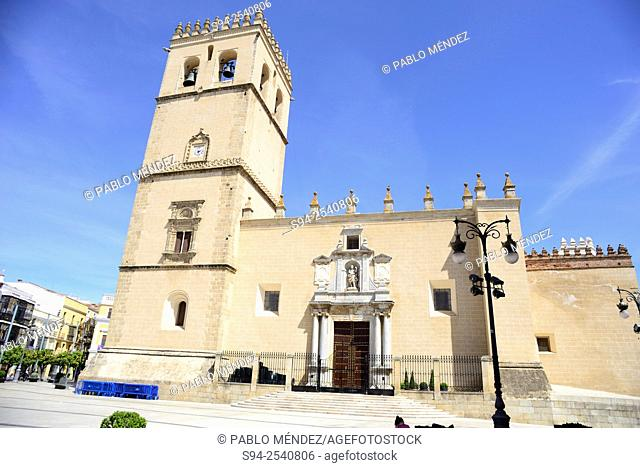 Cathedral of San Juan Bautista in Badajoz, Spain