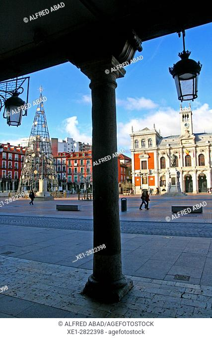 Town Hall, Plaza Mayor, Valladolid, Spain