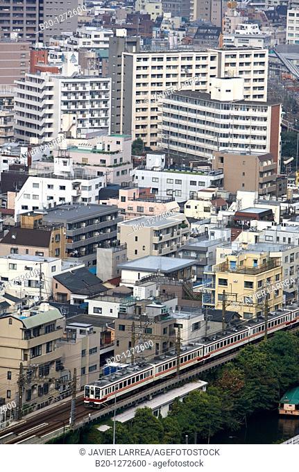 Railway, Sumida, Tokyo, Japan