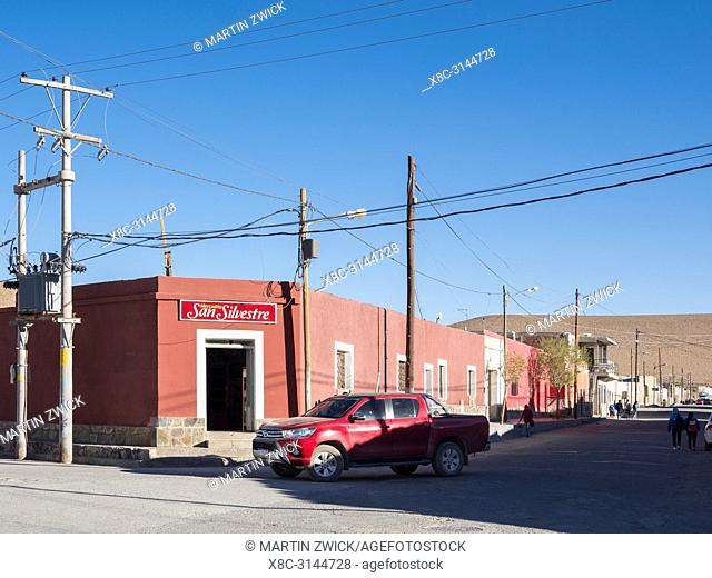 Mining town San Antonio de los Cobres, main town in the departamento Los Andes in Salta province. South America, Argentina