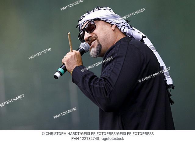 B-Real from Cypress Hill live at Summerjam 2019 at Fuhlinger See. Koln, 07.07.2019 | usage worldwide. - Cologne/Nordrhein-Westfalen/Deutschland
