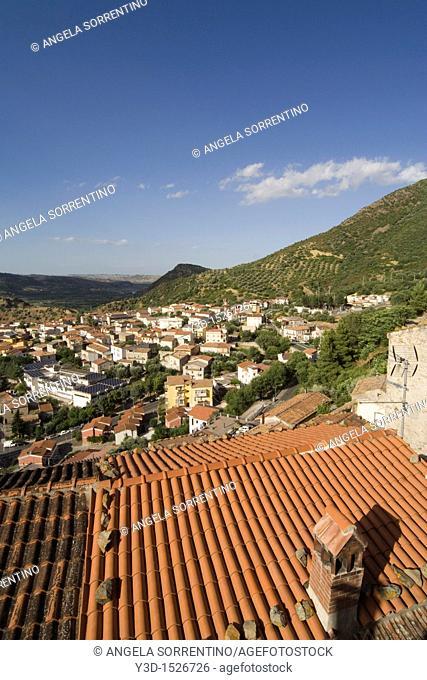 View of Valsinni, Basilicata, Italy