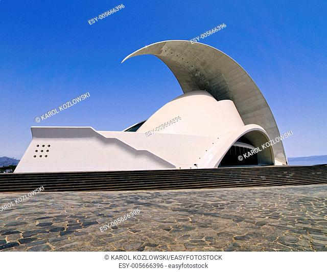 Auditorium in Santa Cruz de Tenerife, Canary Islands, Spain