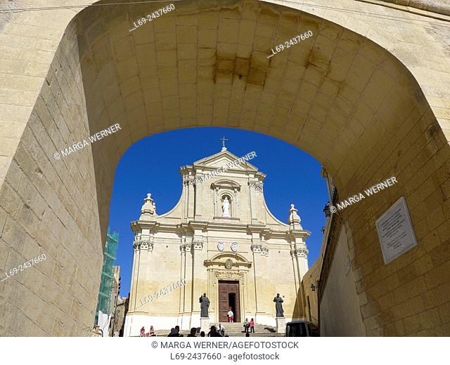 Citadel, Victoria aka Ir-Rabat, Gozo, Malta Archipel, Mediterranean Sea