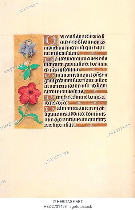 Hours of Queen Isabella the Catholic, Queen of Spain: Fol. 138v, c. 1500. Creator: Master of the First Prayerbook of Maximillian (Flemish, c