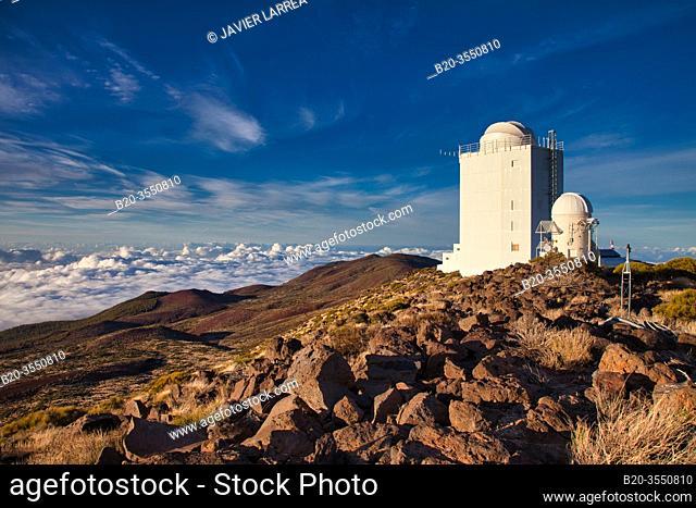 "New Solar Telescope GREGOR, """"Observatorio del Teide"""" (OT), Astronomical Observatory, Las Cañadas del Teide National Park, Tenerife, Canary Islands, Spain"
