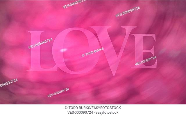 Happy Valentine's Day, with motion background - part 1