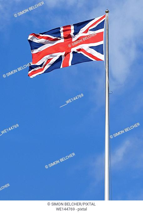 The Union Jack, the National Flag of the United Kingdom