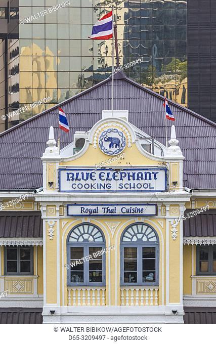 Thailand, Bangkok, Silom Area, Blue Elephant Thai Cooking School