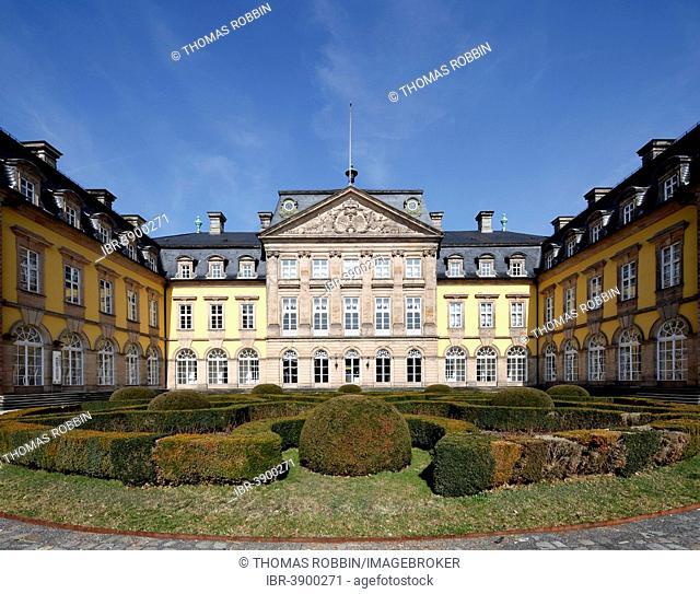 Arolsen Castle, Bad Arolsen, Waldeck, Hesse, Germany