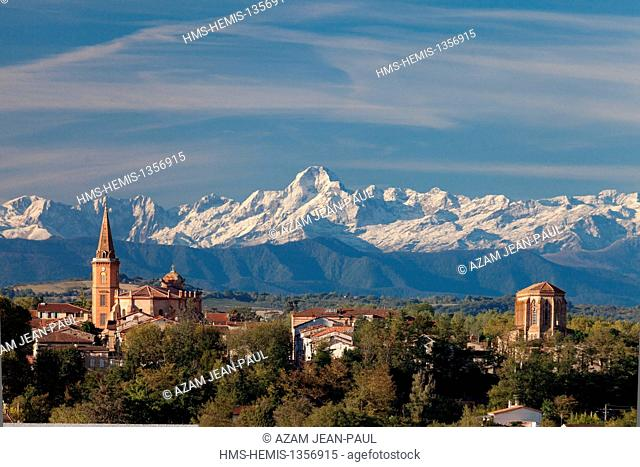 France, Ariege, Mazeres and the Pyrenees