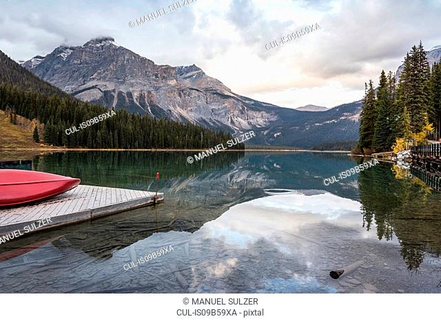 Emerald Lake, Yoho National Park, Field, British Columbia, Canada