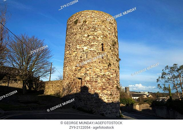 The French Tower, Part of the Town Walls built in the 13th Century,