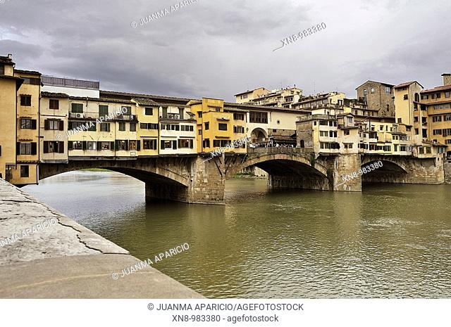 Ponte Vecchio, Florence.  Florence (Firenze in Italian) is a city located in northern central Italy, capital and largest city of the homonymous province and the...