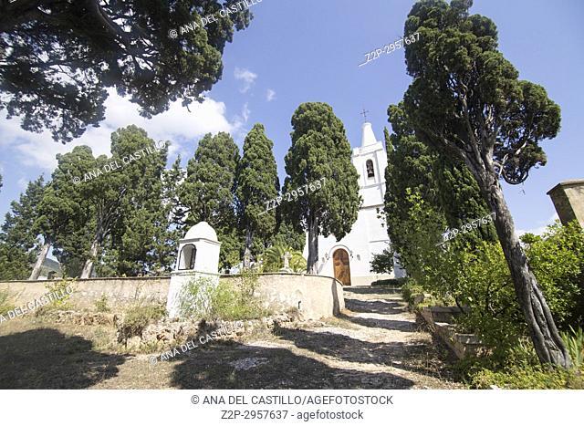 The Sanctuary. Beniarres village, Alicante province, Spain