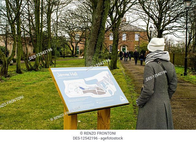 Jarrow Hall, Anglo-Saxon Farm, Village and Bede Museum, Jarrow; Tyne & Wear, Northumberland, England