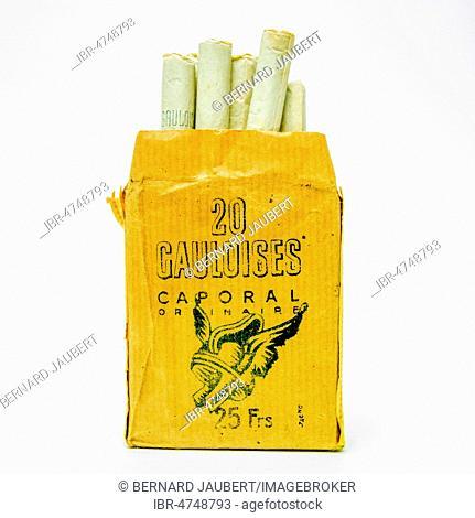Gauloises french cigarettes tube cut cigarette tobacco online