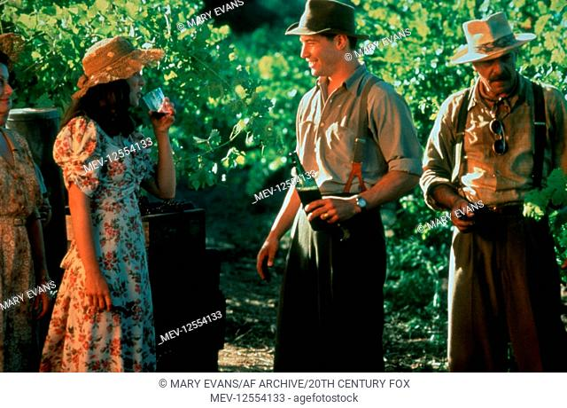 Aitana Sanchez-Gijon, Keanu Reeves & Giancarlo Giannini Characters: Victoria Aragon, Paul Sutton & Alberto Aragon Film: A Walk In The Clouds (1995) Director:...