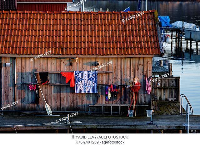Grebbestad, bohuslan region, west coast, Sweden