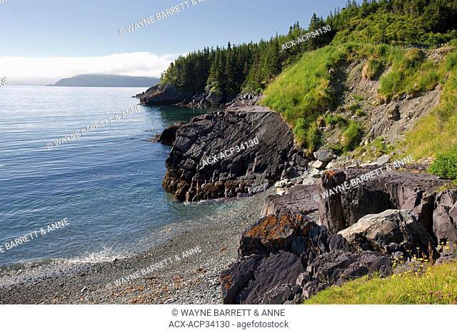 Admiral's Cove coastline, Newfoundland and Labrador, Canada