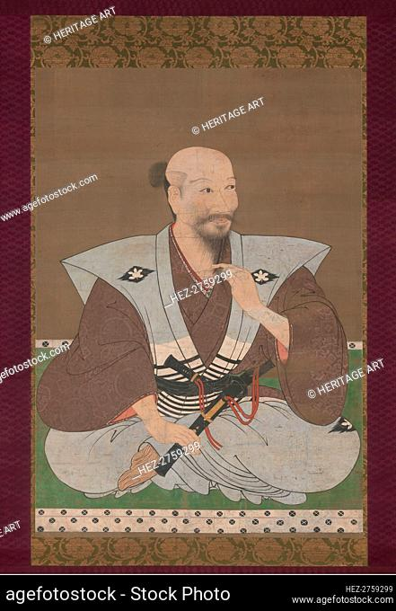 Portrait of a Warrior, late 16th century. Creator: Unknown