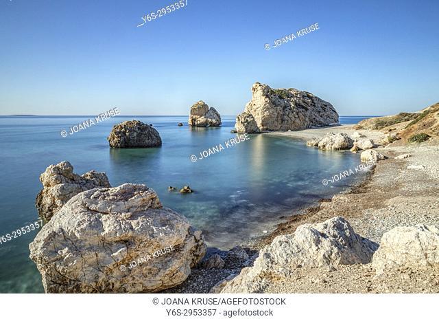 Petra tou Romiou, Aphrodite's Rock, Paphos, Cyprus