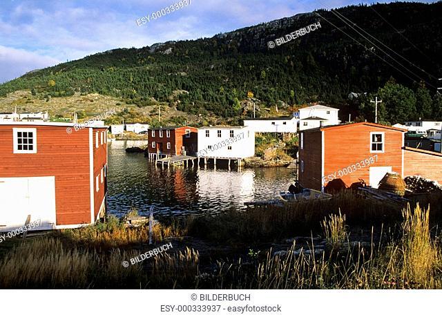 Fishing village of Salvage, Newfoundland, Canada