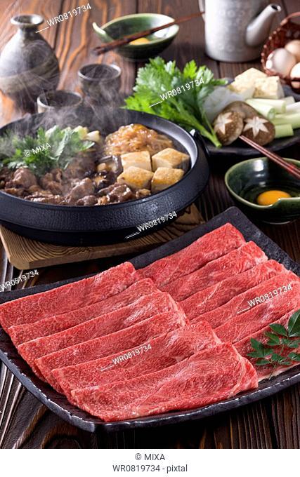 Meat for Sukiyaki