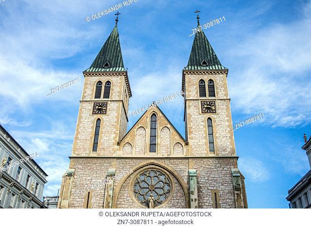 Sacred Heart Cathedral, Sarajevo, Bosnia and Herzegovina