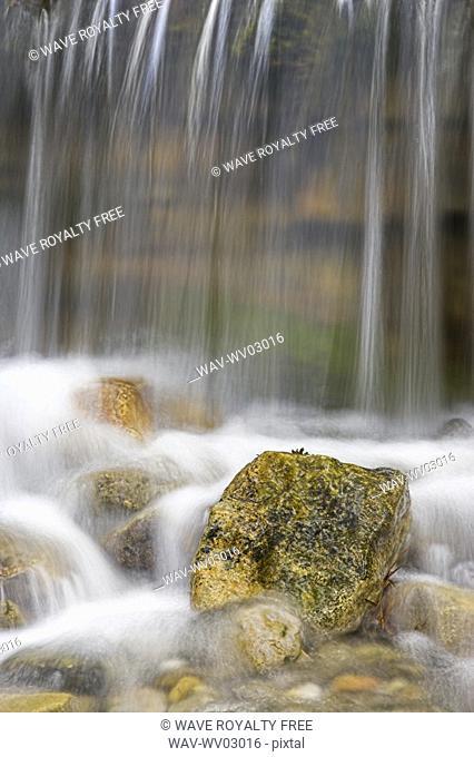 O' Shaughnessy Falls, Kananaskis Country Alberta Canada