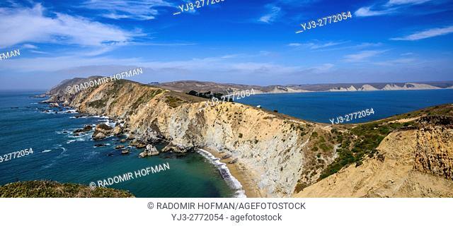 Point Reyes National Seashore, Marin County costline, California, USA