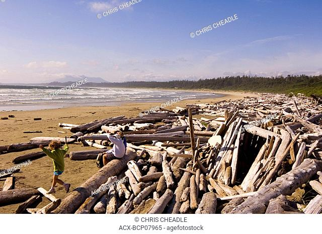 Pacific Rim National Park, Wickaninnish Beach, Vancouver Island, British Columbia, Canada