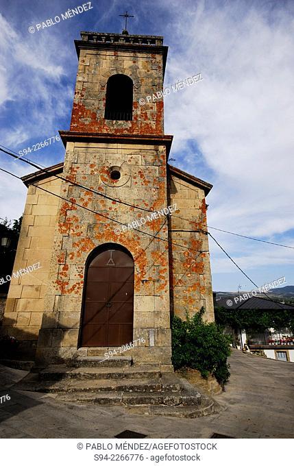 Church of Viana do Bolo, Orense province, Spain
