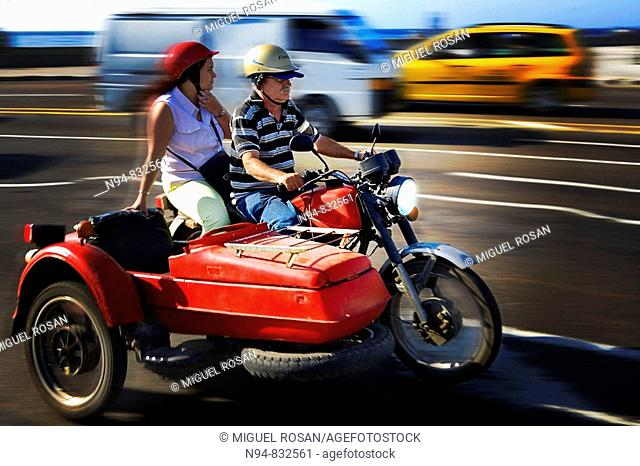 Sidecar, Havana. Cuba