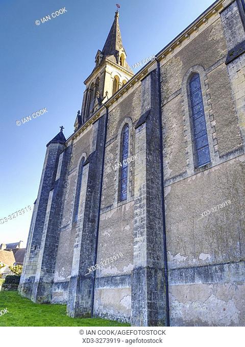 St. Sulpice Church, Le Bugue, Dordogne Department, Nouvelle Aquitaine, France