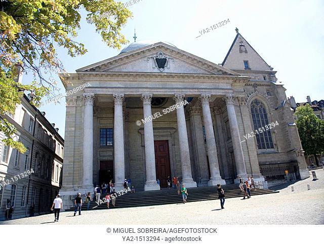 Cathédrale Saint-Pierre in Geneva