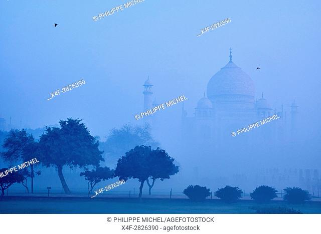 India, Uttar Pradesh state, Agra, Taj Mahal, Unesco world heritage