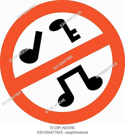 prohibido musica