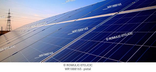 Solar Panels, Croatia, Europe