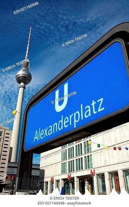 U-Bahnhaltestelle Alexanderplatz