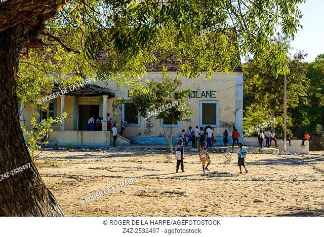 School. Ibo Island. Mozambique