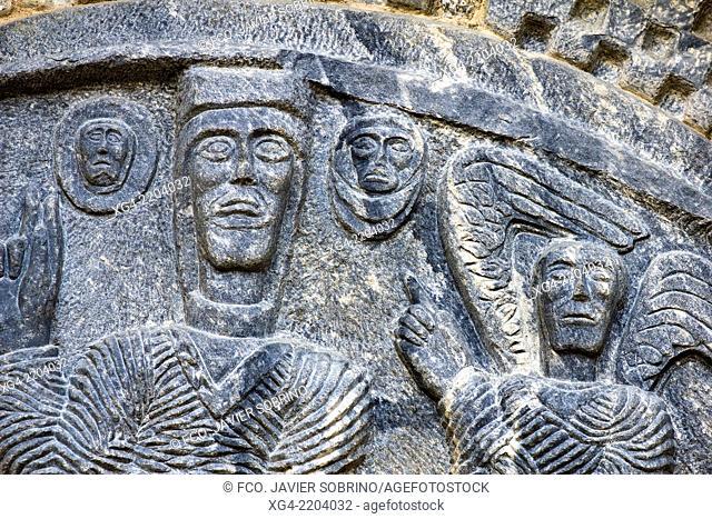 Romanesque Church of the Purification - Bossost - Aran - Aran Valley - province Lleida - Catalonia - Spain - Europe