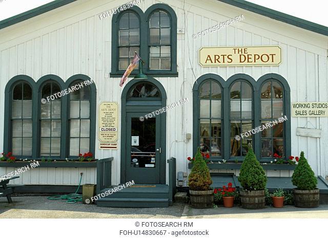 Abingdon, VA, Virginia, The Arts Depot