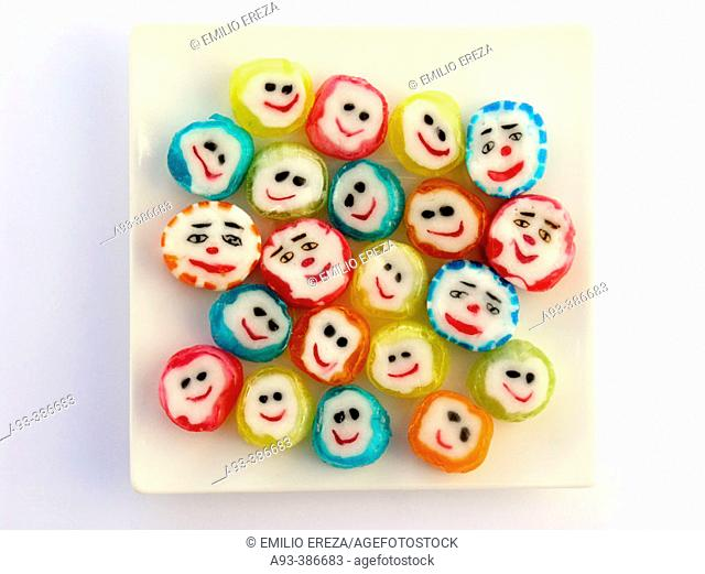 Candy faces