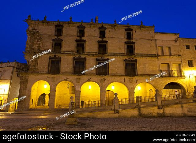Conquest palace, Trujillo, Caceres, Extremadura, Spain