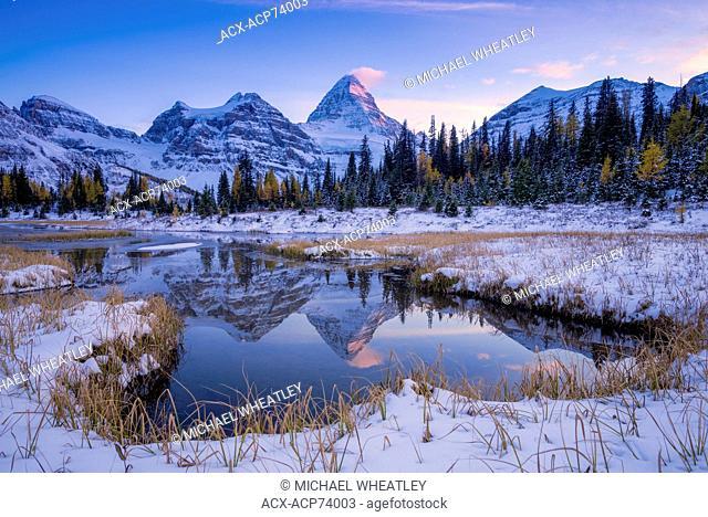 Mount Assiniboine Provincial Park, British Columbia, Canada