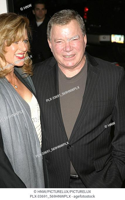 William Shatner  03/23/05 MISS CONGENIALITY 2 : ARMED AND FABULOUS @ Grauman's Chinese Theatre, Hollywood Photo by Izumi Hasegawa/HNW / PictureLux (March 23